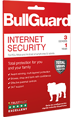 Bullguard internet security full version for 3 devices (pc/mac.