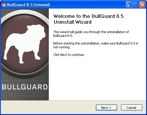 uninstall wizard