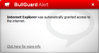 Firewall Alert - Automatically grant access